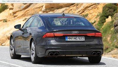 Audi S7 2019 lộ diện hoàn toàn không chút ngụy trang 6.
