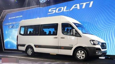 Hyundai Solati chính thức ra mắt, chốt giá 1,08 tỷ đồng 3.