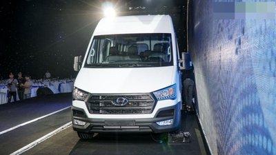 Hyundai Solati chính thức ra mắt, chốt giá 1,08 tỷ đồng 2.