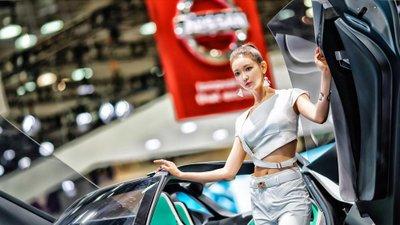 Ngắm dàn người mẫu xinh như hotgirl tại triển lãm Busan 2018 15.