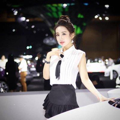 Ngắm dàn người mẫu xinh như hotgirl tại triển lãm Busan 2018 3.