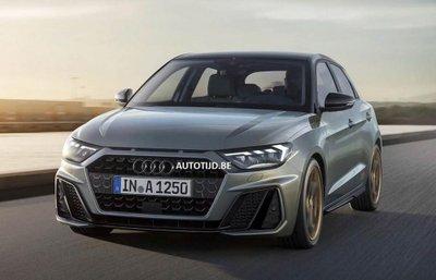 Audi A1 2019 lộ diện, sẵn sàng đấu với Mercedes-Benz A-Class 2.