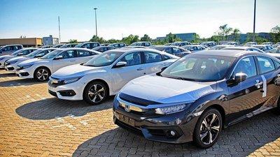 Lượng xe ô tô nhập khẩu giảm mạnh kỷ lục từ 8/6 - 14/6/2018 1.