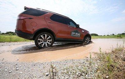 Dàn xe Land Rover hàng chục tỷ lội bùn trải nghiệm ở Hà Nội11