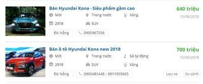 Hyundai Kona 2018 tăng giá tiền đặt cọc, dự đoán lắp ráp trong nước - Ảnh 1.