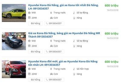 Hyundai Kona 2018 tăng giá tiền đặt cọc, dự đoán lắp ráp trong nước.