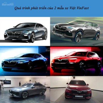 Tổng kết quá trình phát triển mẫu ô tô Việt VinFast: Từ trang giấy đến thực tế.