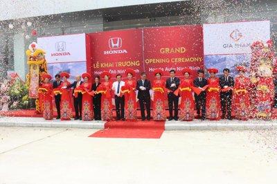 Honda Việt Nam mở rộng mạng lưới đại lý đạt tiêu chuẩn 5S tại Ninh Bình 1