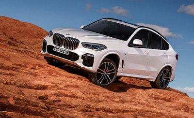 BMW X6 phiên bản mới gây chú ý bằng bộ ảnh phác họa chất lừ 1