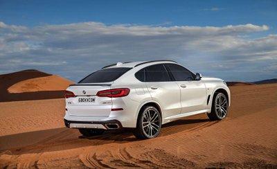 BMW X6 phiên bản mới gây chú ý bằng bộ ảnh phác họa chất lừ a9