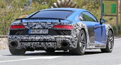 Audi R8 2019 tiếp tục lộ ảnh chạy thử 3