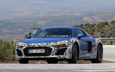 Audi R8 2019 tiếp tục lộ ảnh chạy thử.