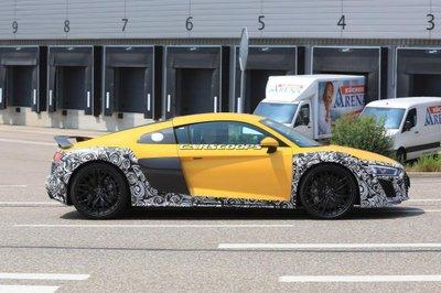 Audi R8 2019 tiếp tục lộ ảnh chạy thử 5