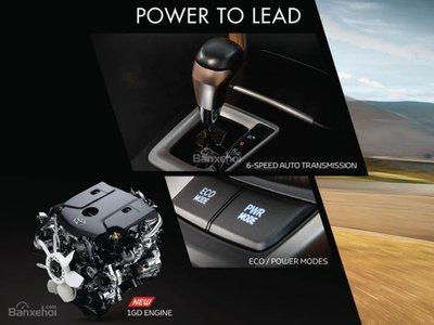 Động cơ Toyota Fortuner 2018 máy dầu số tự động.
