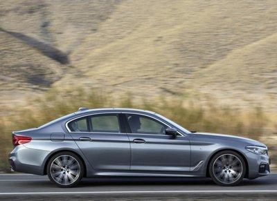 """Tóm gọn """"hàng hiếm"""" BMW 5-Series thế hệ mới lăn bánh tại Hà Nội a11"""