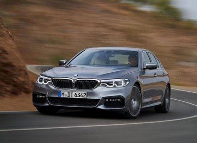 """Tóm gọn """"hàng hiếm"""" BMW 5-Series thế hệ mới lăn bánh tại Hà Nội a5"""