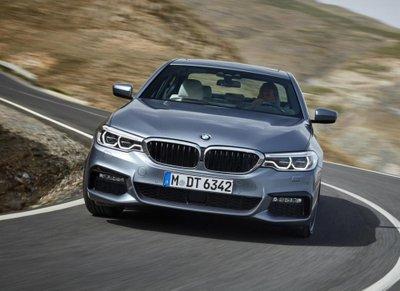 """Tóm gọn """"hàng hiếm"""" BMW 5-Series thế hệ mới lăn bánh tại Hà Nội a4"""