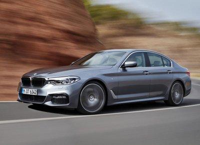 """Tóm gọn """"hàng hiếm"""" BMW 5-Series thế hệ mới lăn bánh tại Hà Nội a8"""