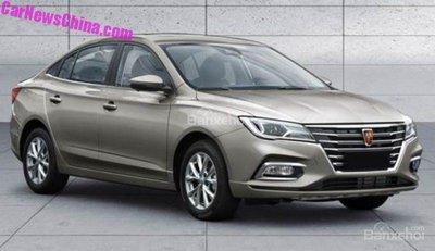 Roewe i5 - Sedan đẹp gốc Trung trong tầm giá 200 triệu - 1