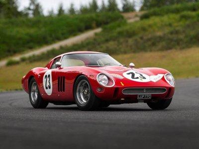 Xe cổ Ferrari 250 GTO 1962 giá gấp hàng chục lần siêu xe