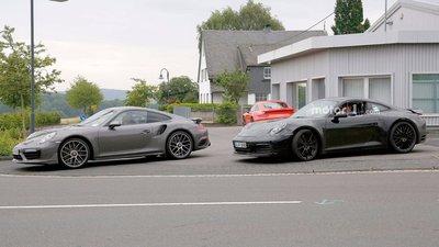 Porsche 911 hoàn toàn mới lộ diện trên đường thử a2