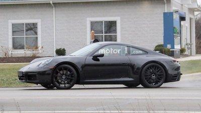 Porsche 911 hoàn toàn mới lộ diện trên đường thử a5