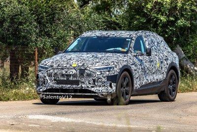 Kết cấu gương chiếu hậu kỳ lạ của Audi E-Tron Quattro z