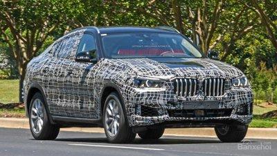 BMW X6 2020 lần đầu lộ ảnh chạy thử, rất giống BMW X5 mới z