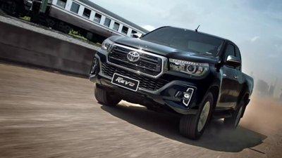 Toyota Hilux 2018 miễn thuế bất ngờ tăng giá khởi điểm lên 695 triệu đồng.