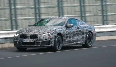 BMW M850i - Mẫu xe mạnh nhất của BMW lộ ảnh chạy thử a2