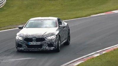 BMW M850i 2019 - Mẫu xe mạnh nhất của BMW lộ ảnh chạy thử 1