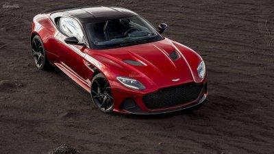 Siêu phẩm Aston Martin DBS Superleggera ra mắt với động cơ V12 3a