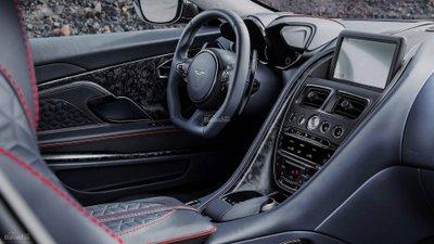 Nội thất siêu phẩm Aston Martin DBS Superleggera z