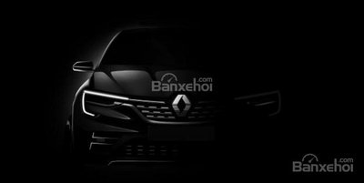 Mẫu xe coupe-SUV Renault cencept sẽ ra mắt tại triển lãm Moscow 2018.
