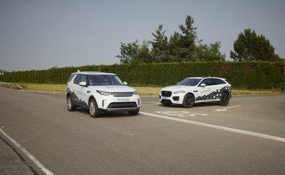 Jaguar Land Rover thử nghiệm công nghệ kết nối xe mới.