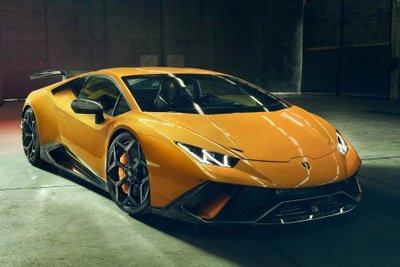 """Lamborghini Huracan Performante """"dữ tướng"""" hơn sau khi qua tay hãng độ Novitec a5"""