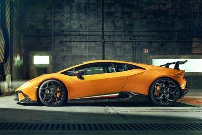 """Lamborghini Huracan Performante """"dữ tướng"""" hơn sau khi qua tay hãng độ Novitec a2"""