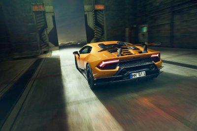 """Lamborghini Huracan Performante """"dữ tướng"""" hơn sau khi qua tay hãng độ Novitec a4"""