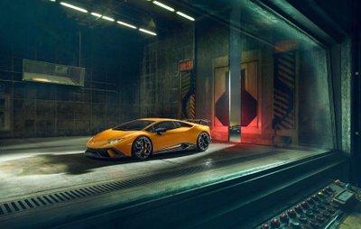 """Lamborghini Huracan Performante """"dữ tướng"""" hơn sau khi qua tay hãng độ Novitec a6"""