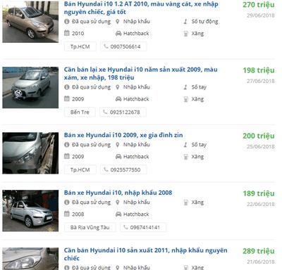 """Top 5 xe cũ giá rẻ mà vẫn còn """"ngon"""""""