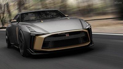 Italdesign ra mắt siêu phẩm kỷ niệm Nissan GT-R50 1a