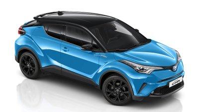 Crossover Toyota C-HR thêm bản đặc biệt mới Design Edition z