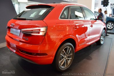 Vén màn Audi Q3 Design Edition bản đặc biệt tại Ấn Độ - 2