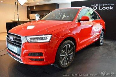 Vén màn Audi Q3 Design Edition bản đặc biệt tại Ấn Độ - 1