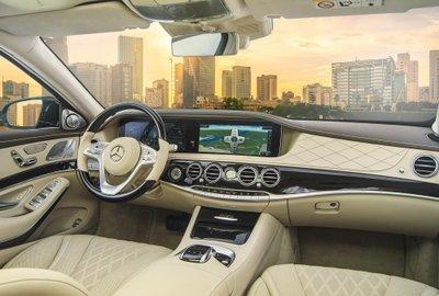 Nội thất Mercedes-Benz S450L 2018.