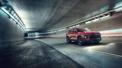 Ngoại thất Chevrolet Blazer 2019 hoàn toàn mới z