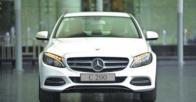 Giá xe Mercedes C 200 tháng 4/2019.