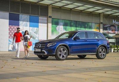 Bảng giá bán xe Mercedes-Benz GLC-Class tháng 4/2019.