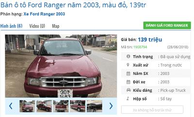 Mua xe bán tải cũ dưới 200 triệu cần lưu ý điều gì? - Ford Ranger  a4