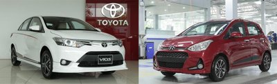 Hyundai Grand i10 và Toyota Vios